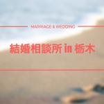 【厳選】栃木でおすすめの結婚相談所10選!宇都宮で婚活